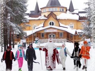 Великий устюг! «Один день на зимних каникулах в новогодней сказке 2017-2018г.»